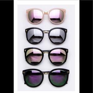 Mirrored Fashion Sunglasses